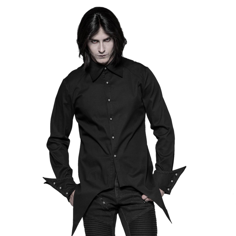 Hemd im Frack Style mit breiten Arm Manschetten