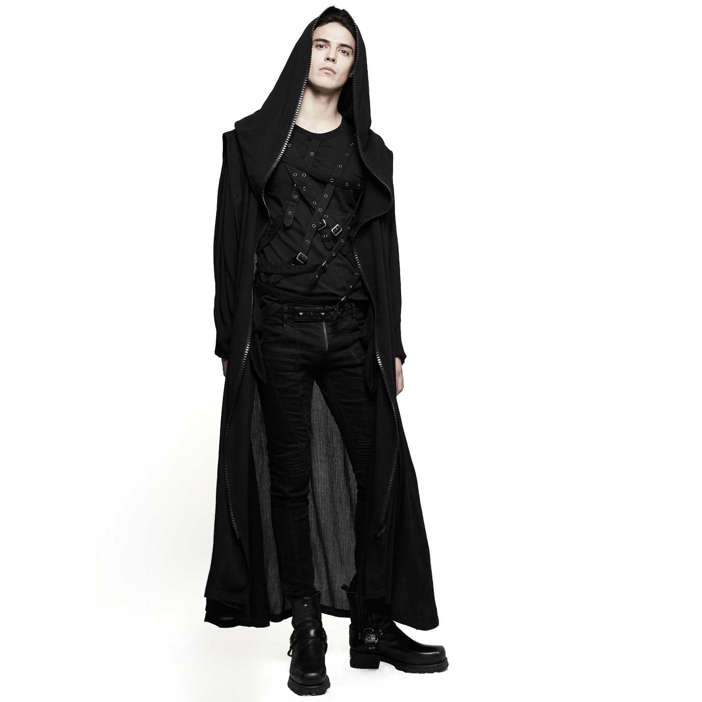 gothic sommer mantel mit grosser kapuze voodoomaniacs. Black Bedroom Furniture Sets. Home Design Ideas