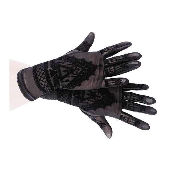 Handschuhe im Henna Look mit Alchemy Symbolen   VOODOOMANIACS