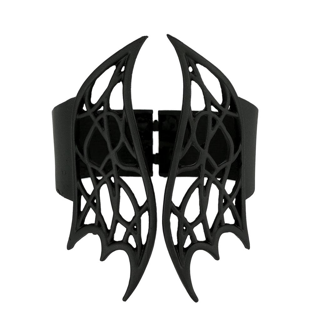 Nu Goth Armschmuck im Elfen Flügel Style